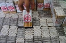 Ribuan Bungkus Rokok Ilegal Disita, Kerugian Negara Rp 70 Juta - JPNN.com