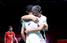 Makna Pelukan FajRi di 8 Besar Malaysia Masters 2020 - JPNN.com