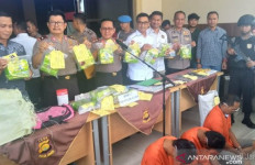 Tiga Kurir 15 Kg Sabu-sabu Jaringan Napi Diciduk - JPNN.com