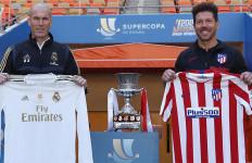 Final Piala Super Spanyol: Zidane Percaya Diri, Simeone Tak Kenal Takut - JPNN.com