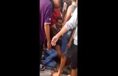 Polisi Selamatkan Pelaku Jambret yang Nyaris Tewas Dihajar Massa - JPNN.com