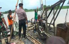TNI Polri Siap Sikat Penambang Pasir Ilegal di Sungai Bengawan Solo - JPNN.com
