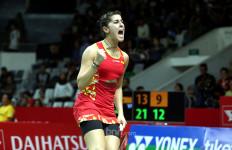 Lunasi Utang, Carolina Marin jadi Semifinalis Pertama Indonesia Masters 2020 - JPNN.com