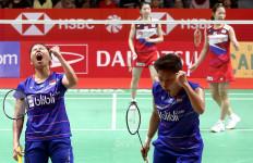 Lihat Greysia/Apriyani Jatuh Bangun di Final Barcelona Spain Masters 2020 - JPNN.com