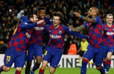 Lihat Gol Messi yang Menyelamatkan Debut Quique Setien - JPNN.com