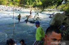 Semua Korban Tewas Jembatan Putus di Kaur Bengkulu Ditemukan - JPNN.com