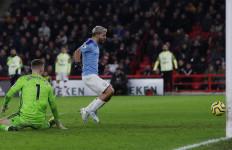Aguero jadi Penentu Kemenangan Manchester City dari Sheffield United - JPNN.com