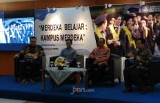 Mendikbud Nadiem Makarim Meluncurkan Kebijakan Kampus Merdeka - JPNN.com