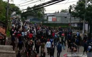 2 Ormas Bentrok, Polri dan TNI Jaga Ketat Perbatasan Sukabumi dengan Cianjur