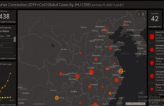 Peta Online Ini Bisa Pantau Penyebaran Virus Corona di Dunia - JPNN.com