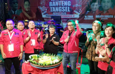Rayakan HUT PDIP di Tangsel, Hasto Ingatkan Pesan Megawati Soal Jaga Bumi - JPNN.com
