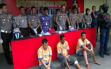 Berani Lawan Polisi dengan Sangkur, Langsung Ditembak di Kaki