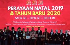 Rayakan Natal Bersama, MPR, DPR dan DPD Gemakan Kerukunan dalam Keberagaman - JPNN.com