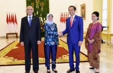Pujian Jokowi Saat Terima Kunjungan Presiden Singapura - JPNN.com