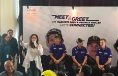 Valentino Rossi: Aku Tresno Indonesia, Vinales Membalas: Aku Cinta Indonesia - JPNN.com