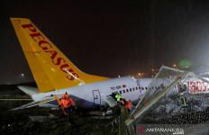 Pesawat Pegasus Air Tergelincir di Istanbul, Ada WNI Jadi Korban? - JPNN.com