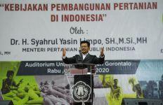 Pesan Mentan untuk Mahasiswa Gorontalo - JPNN.com