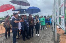 Menteri LHK Bersama Ketua Panitia HPN Tinjau Lokasi Penanaman Pohon Jokowi - JPNN.com