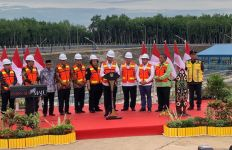 Pesan Presiden Jokowi Saat Peresmian TPA Regional Banjarbakula - JPNN.com