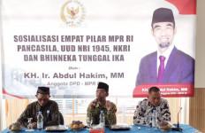 Sosialisasi 4 Pilar MPR, Senator Lampung Abdul Hakim Ajak Pemuda Berkontribusi Memajukan Bangsa - JPNN.com