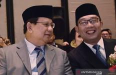 Ridwan Kamil Duduk Berdampingan dengan Prabowo dan Meminta Maaf - JPNN.com