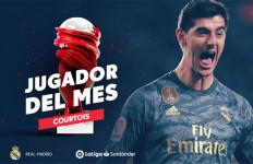 Thibaut Courtois jadi Pemain Terbaik di La Liga Edisi Januari - JPNN.com