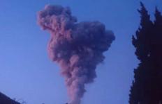 Antisipasi Erupsi Gunung Merapi, Lanal Yogyakarta Gelar Apel Siaga Satgas Bencana Alam - JPNN.com
