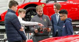 Ferrari Buka Lowongan untuk Siswa Sekolah, Siapa Tahu Ada yang Tertarik