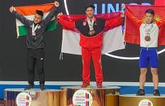 Luar Biasa! Muhammad Faathir Juara Angkat Besi Asia 2020 - JPNN.com