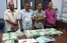 Penangkapan Bandar Narkoba Jaringan Malaysia Berlangsung Dramatis, Istri Pelaku Tertembak - JPNN.com