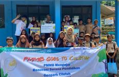 Jamkrindo Kenalkan Gaya Hidup Hijau di Geopark Ciletuh - JPNN.com