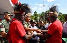 TNI Terima Hibah Lahan Pembangunan Markas Kogabwilhan III di Papua - JPNN.com