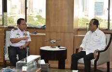 Bertemu Dua Menteri, Kepala Bakamla RI Sampaikan Keinginan Presiden Jokowi - JPNN.com