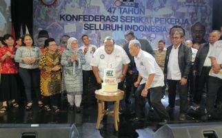 KSPSI Rayakan HUT Ke-47, Andi Gani: Kami Loyalis Presiden Jokowi, Tetapi..