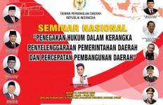 DPD RI Akan Gelar Seminar Pencegahan KKN Pada Penyelenggaraan Pemda - JPNN.com