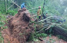 Tebing Jalan Ciburial Cisarua Bogor Longsor - JPNN.com