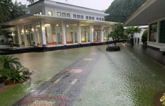 Istana Kepresidenan Kebanjiran, Nih Fotonya - JPNN.com