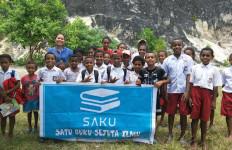 Cerita Komunitas Literasi Saku di Kepulauan Yapen, Serui, Papua - JPNN.com
