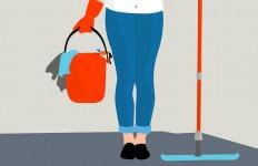 Ibu Tiga Anak Buka Jasa Bersih-Bersih Rumah Tanpa Busana - JPNN.com