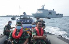 KRI Semarang-594 Jadi Pusat Komando Selama Observasi Virus Corona - JPNN.com