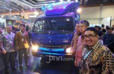 Perdana, Mitsubishi Fuso Pamer Truk Listrik di Indonesia - JPNN.com