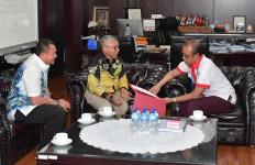 Diterima Sesmenpora, Abdul Haris Laporkan Rencana Kejurnas ke-2 Lemkari di Kalsel - JPNN.com