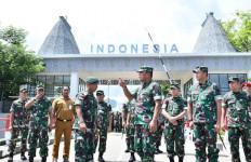 Kasum TNI Tinjau Pos Pengamanan Perbatasan RI - Timor Leste - JPNN.com