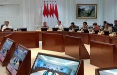 Menteri Sofyan Duduk Bersebelahan dengan Menhub Saat Ratas, Bagaimana Kondisinya? - JPNN.com
