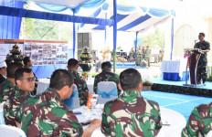 Kasal Tinjau Pembangunan Sarana dan Prasarana Pusat Latihan Tempur Marinir - JPNN.com