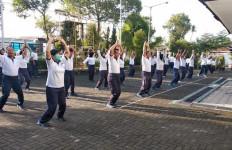 Begini Cara Prajurit dan PNS Lanal Yogyakarta Menangkal Virus Corona - JPNN.com