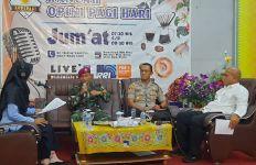 Tim Kesehatan Kogasgabpad Sosialisasi Covid-19 Melalui Udara - JPNN.com