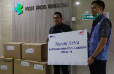 Astra Menyerahkan Bantuan Rp63 Miliar untuk Cegah Virus Corona - JPNN.com