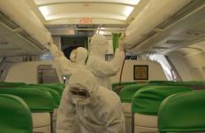 Citilink Semprot Disinfektan di Semua Kursi Pesawat - JPNN.com