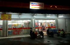 Masuk Alfamart Pakai Masker, Keluar Bawa Uang Rp 48 Juta - JPNN.com